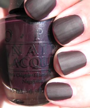 Dark-Colored Nail Polish