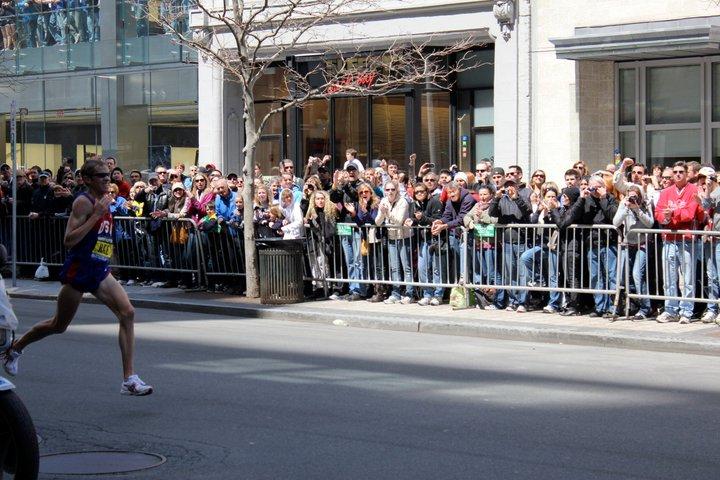 Ryan Hall - Boston Marathon 2011