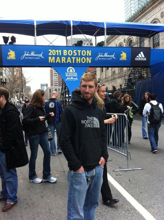 Boston Marathon Finish