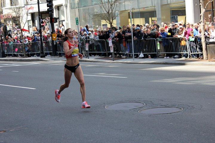 Kara Goucher - 2011 Boston Marathon