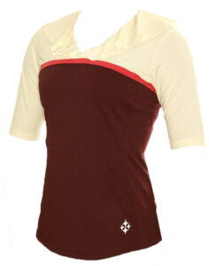 4all Draped Collar Golf Top
