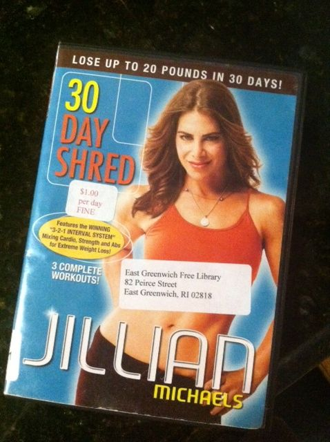 Jillian Michaels 30 Day Shred DVD level 1