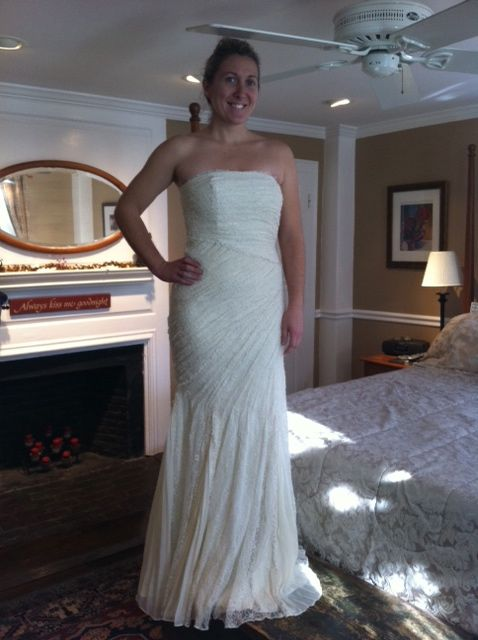 My Ann Taylor wedding dress: we have a winner! - Stylish Life for Moms