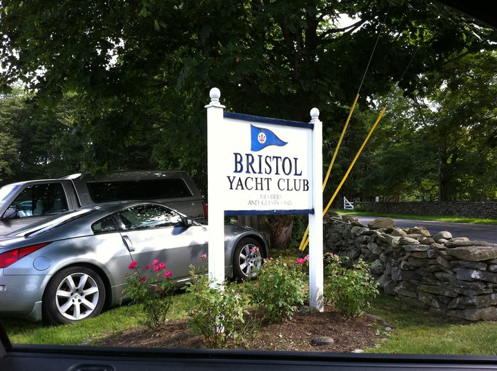 Bristol Yacht Club entrance - Summer 2011