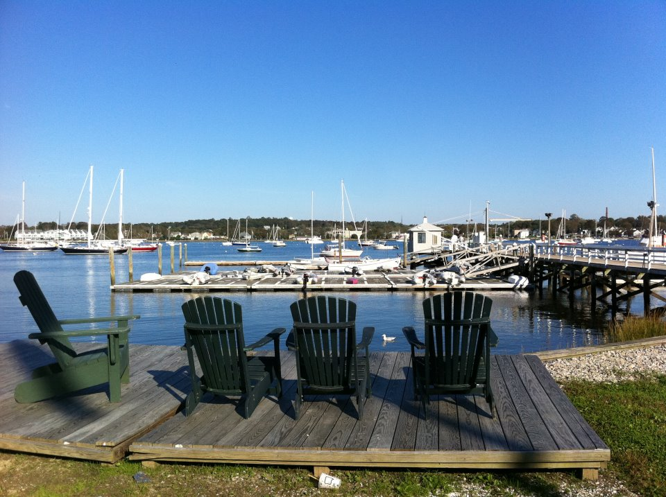 Bristol Yacht Club view - Fall 2011