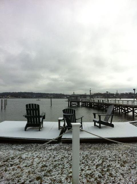 Bristol Yacht Club view - Winter 2012