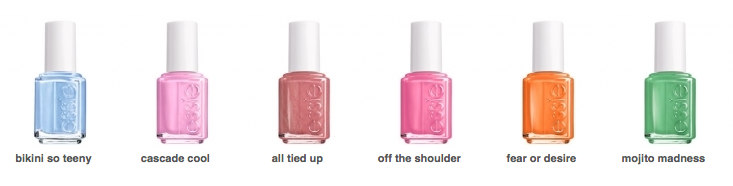 Best Essie Nail Colors For The Summer