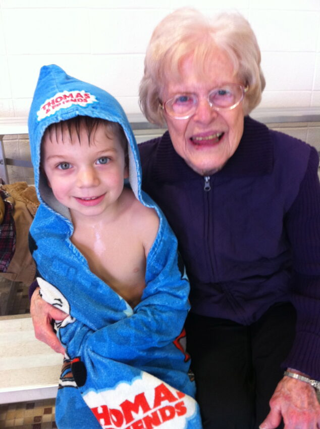 Great-Grandma Rita & Henry