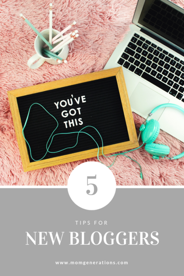 Blogging Advice: 5 Tips for New Bloggers