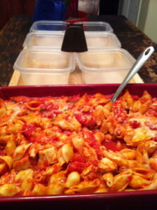Cheesy Chicken and Pasta Casserole: from Hunt's Signature Recip