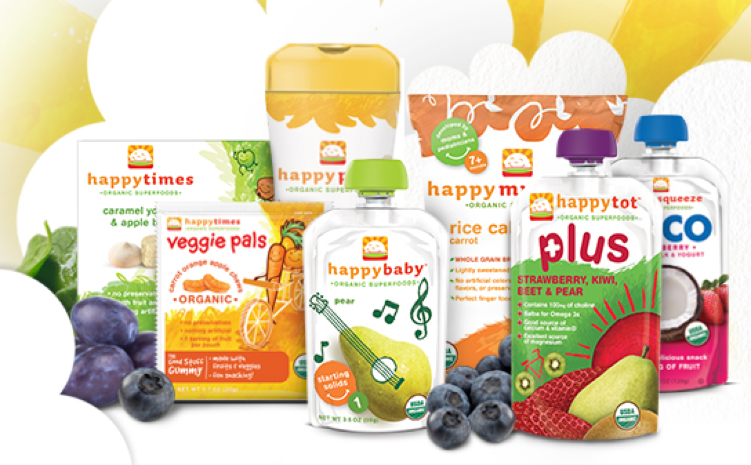 Blueberry Baby Food Combinations
