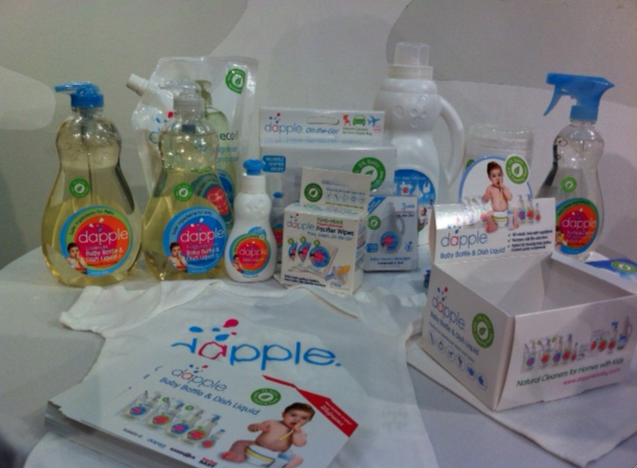 Dapple natural cleaning products