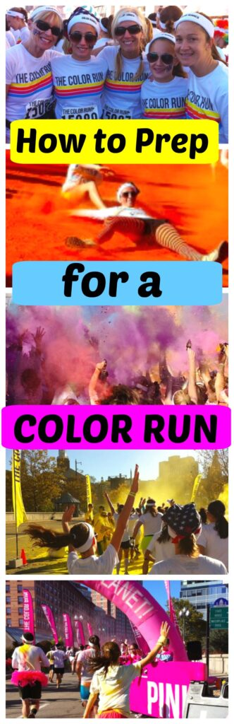 How to Prep for a Color Run