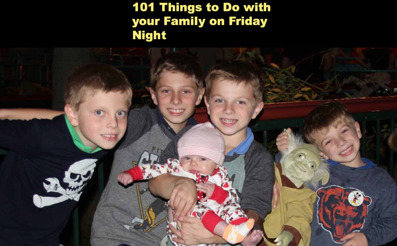 things to do on a friday night date