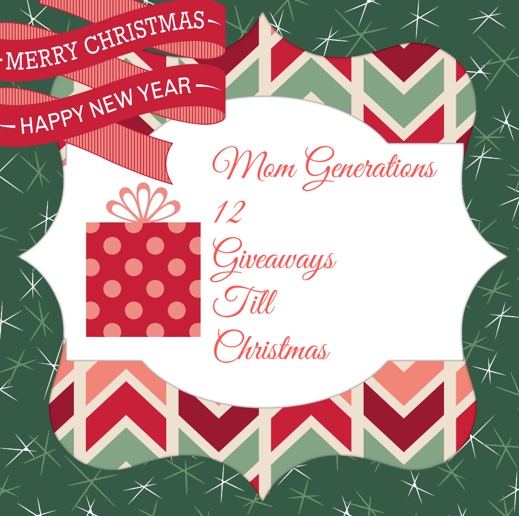 Giveaways For Christmas Party: Mom Generations 12 Giveaways Till Christmas... Giveaway #1