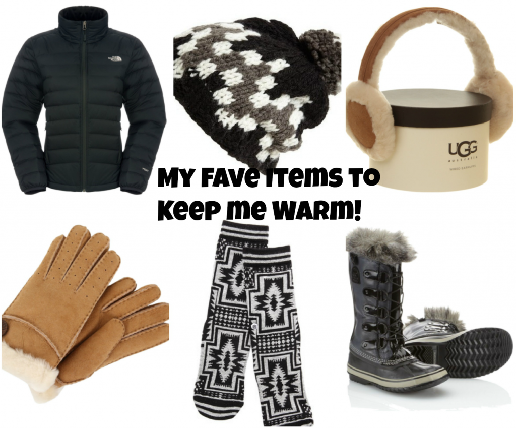 items to keep you warm