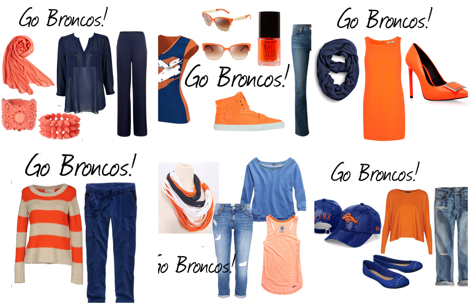 7e73e348fe4 What to Wear Wednesday  Denver BRONCOS Fashion Ideas for the BIG ...