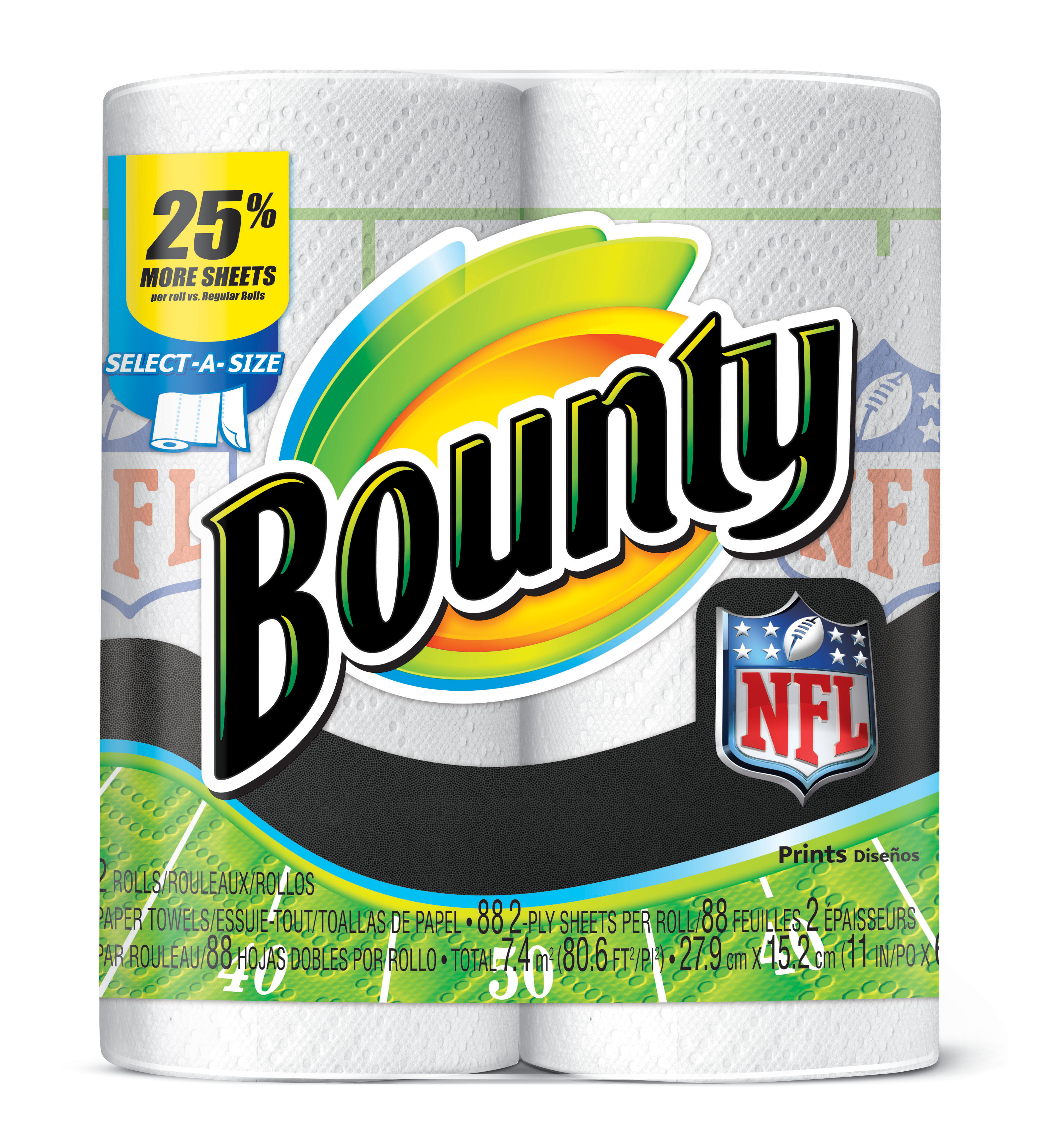 Loving The Bounty Nfl Prints Stylish Life For Moms