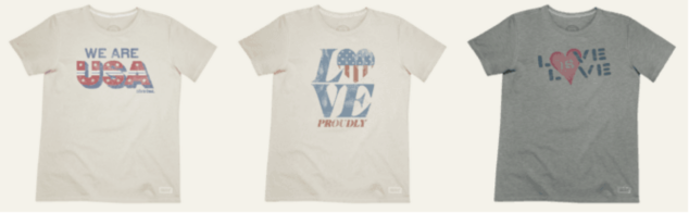 Team USA t-shirts