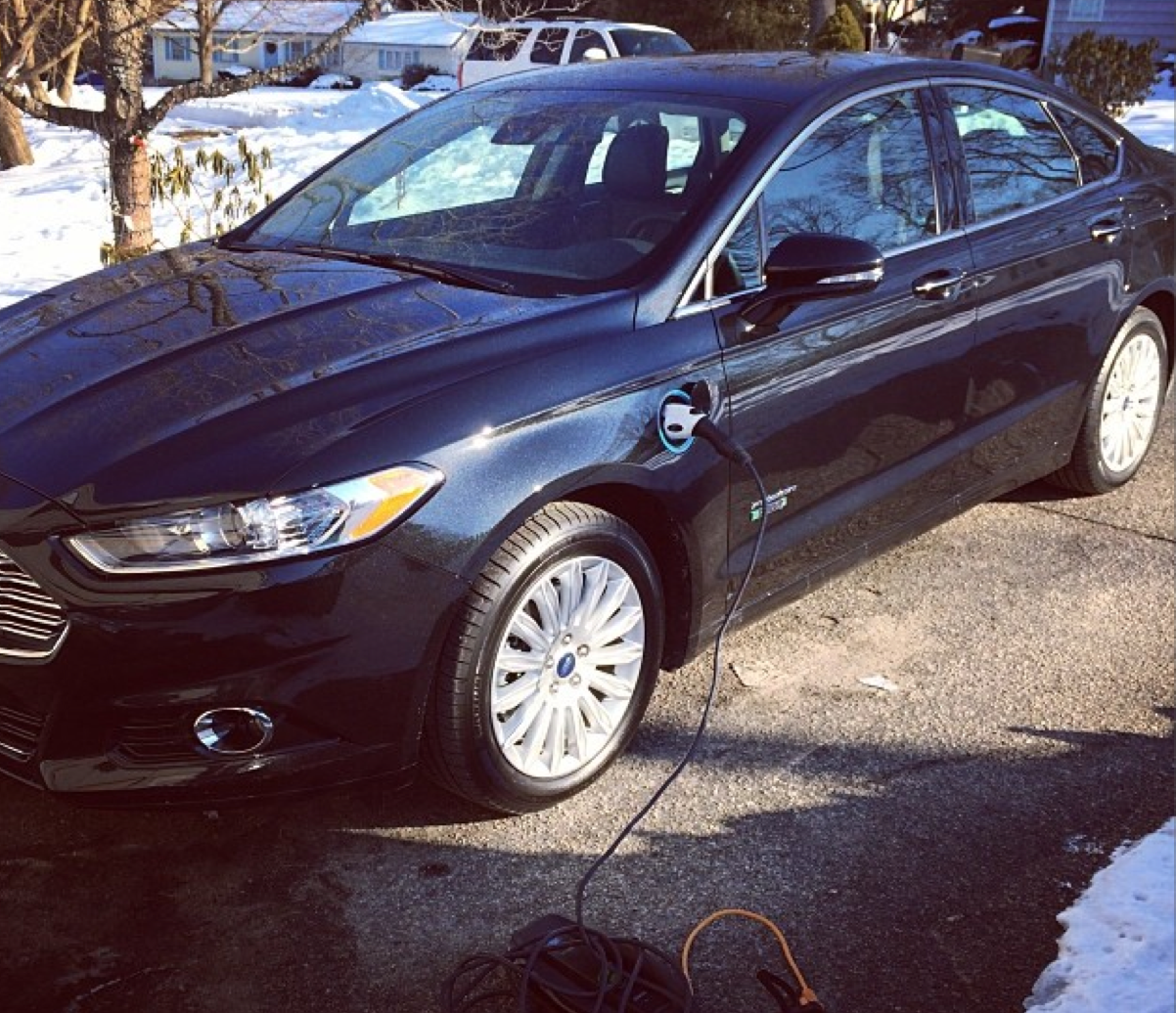 Our Newest Family Addition: Ford Fusion ENERGI 2014