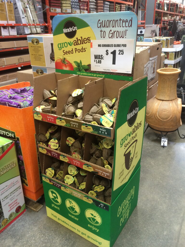 Miracle-Gro Gro-ables at The Home Depot