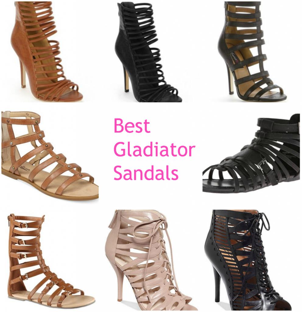 Gladiator Sandals for Spring 2014