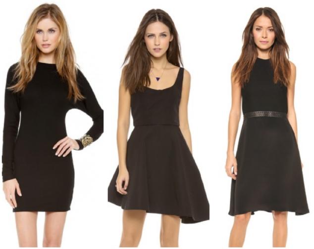 Little Black Dress - no deodorant stains