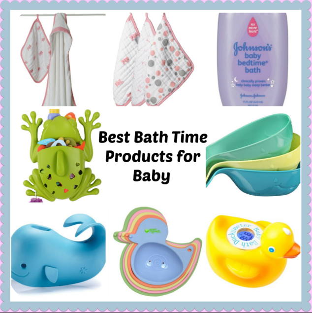 Baby Bath Time Must Haves