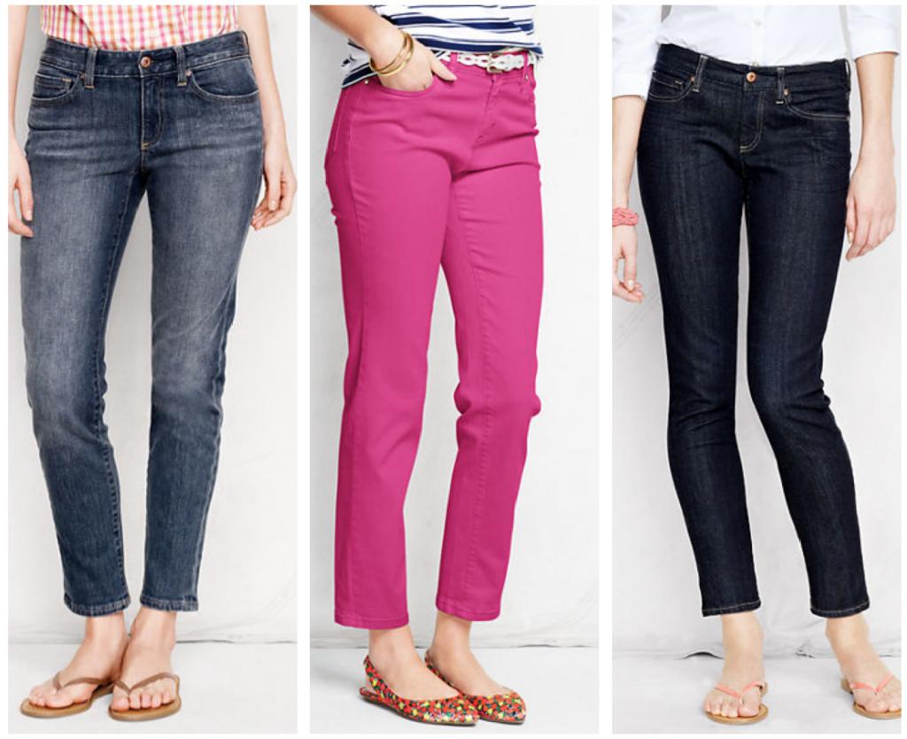Lands' End Jeans