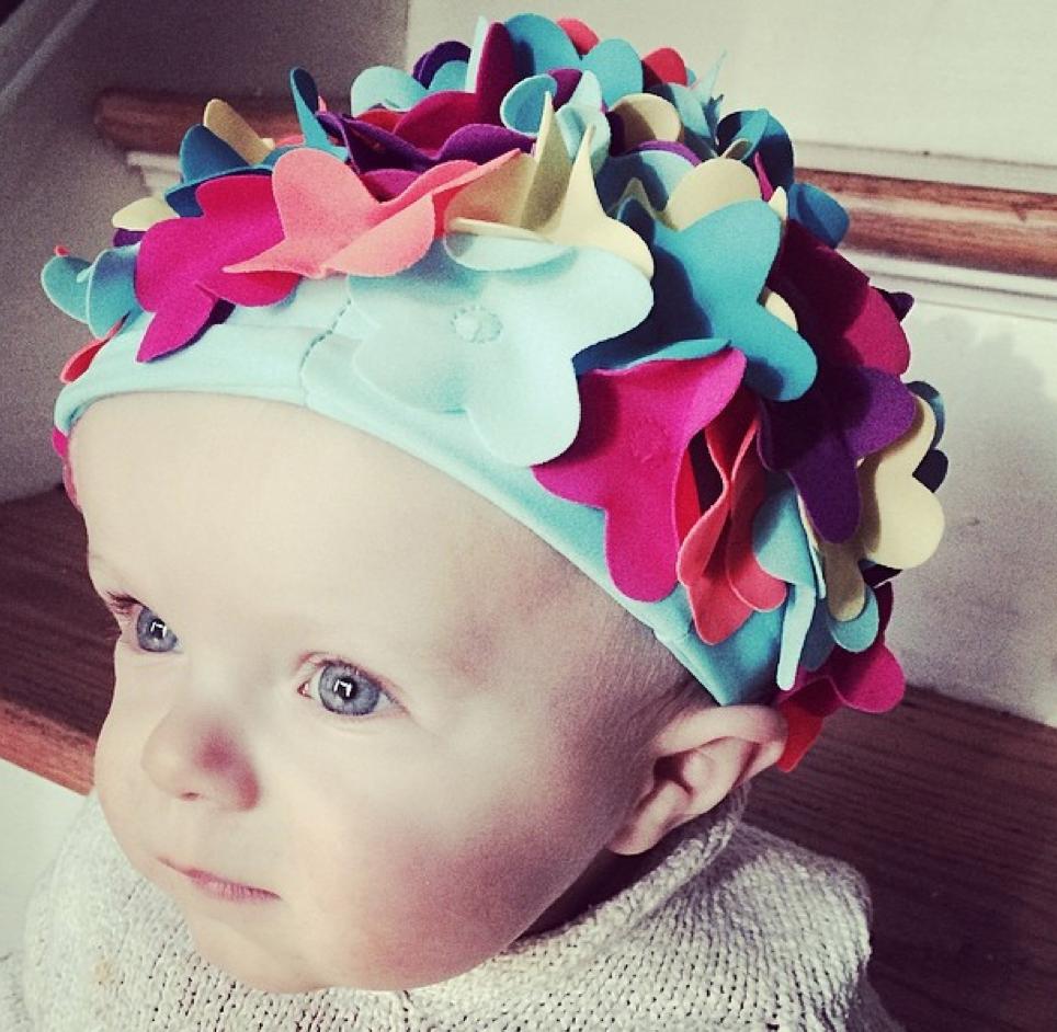 Baby Swim Cap - Mom Generations | Audrey McClelland
