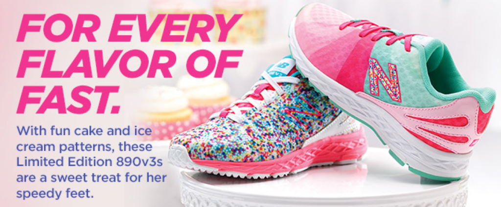 New Balance Cake and Ice Cream Collection