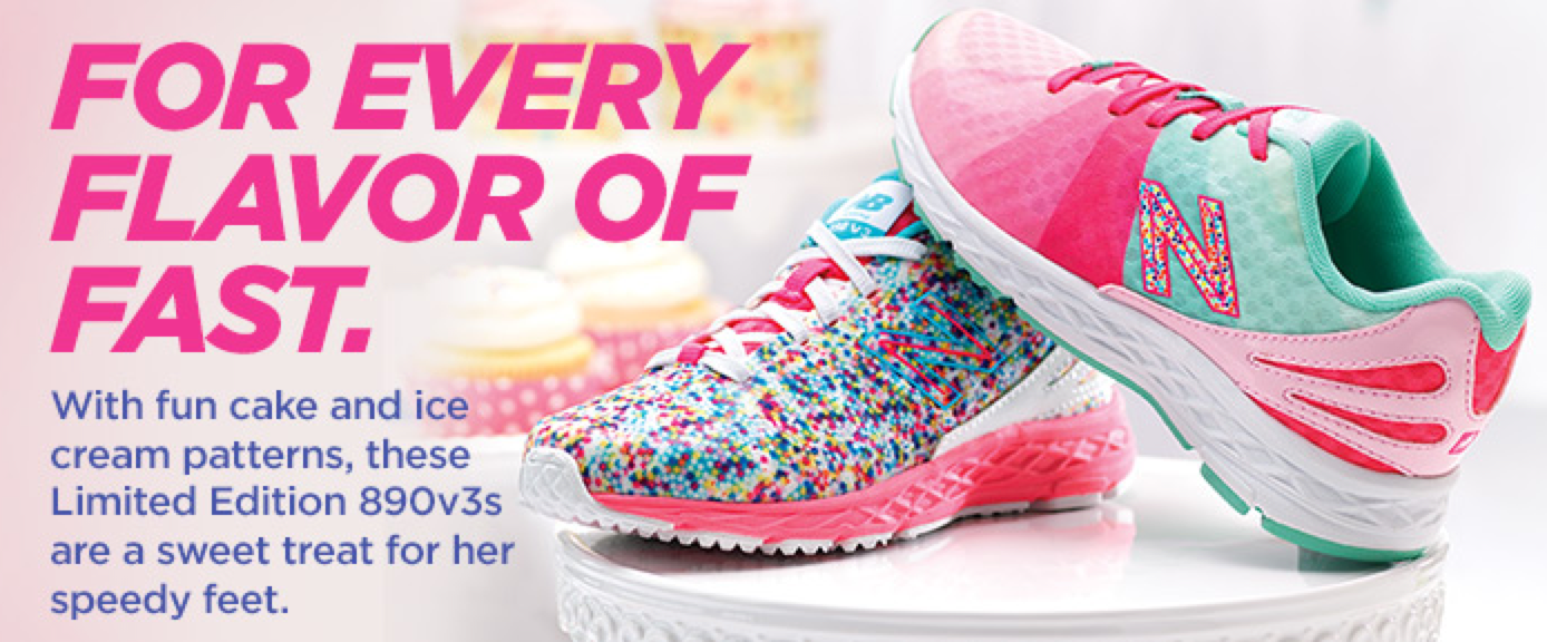 f97d27931b New Balance Limited Edition Cake and Ice Cream Collection - Mom ...