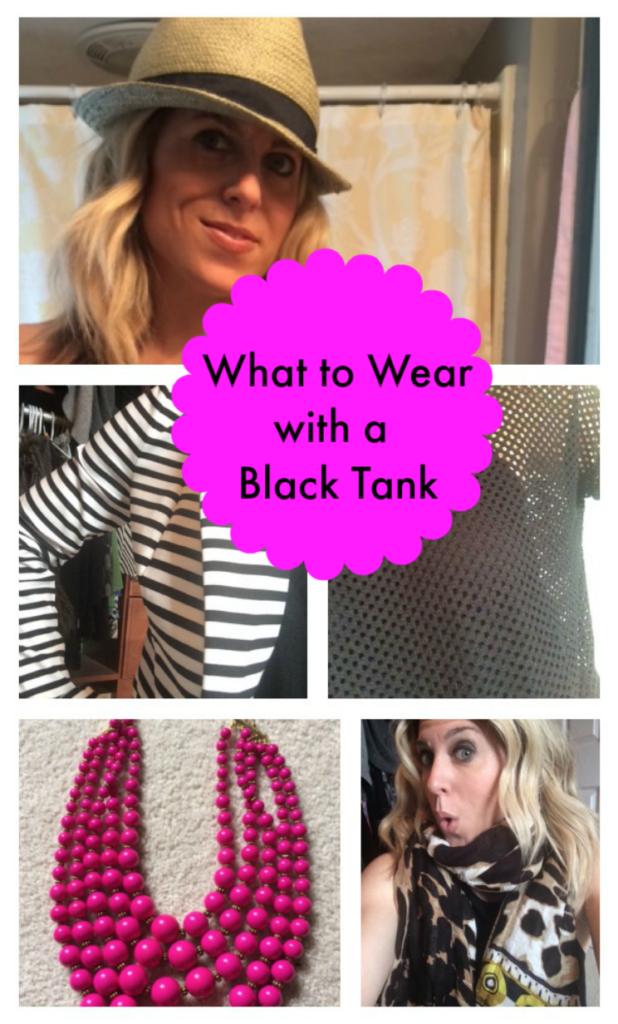 5 Ways to Wear a Black Tank Top