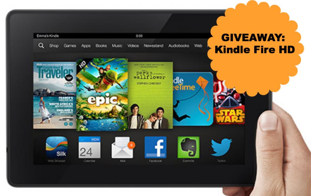 Giveaway Kindle Fire HD