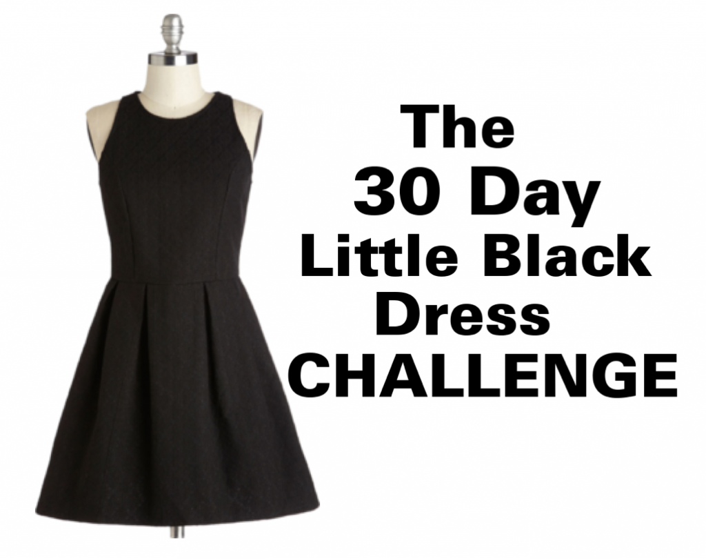 Fitness Challenge 30 Day Little Black Dress Challenge