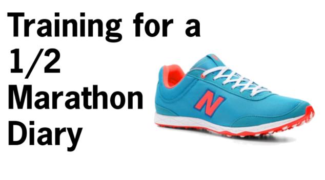 training for a 1/2 marathon