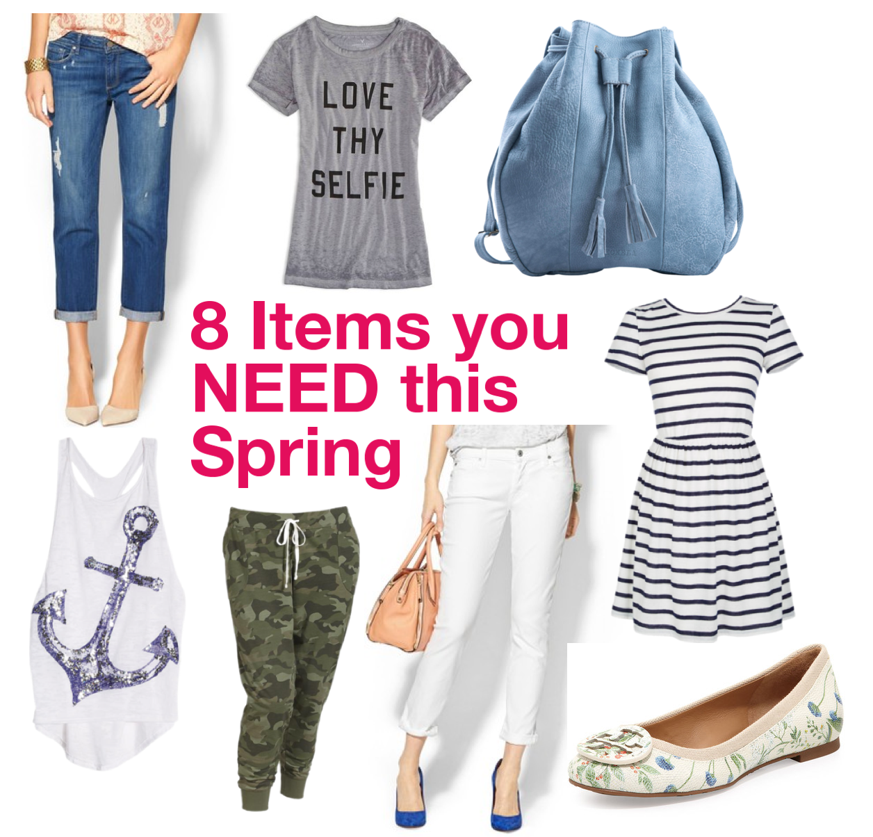 Fashion Trends: 8 Spring Items You Need And Where To Get