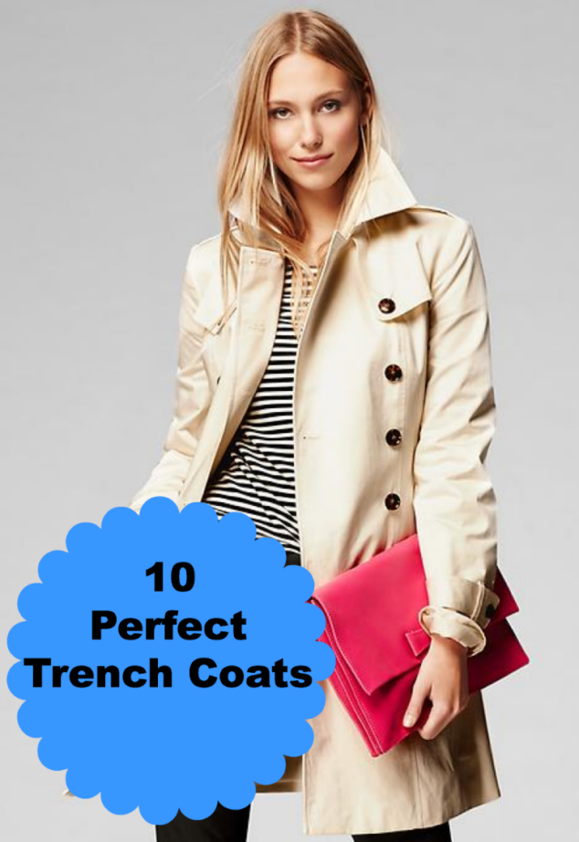 Perfect Trench Coats