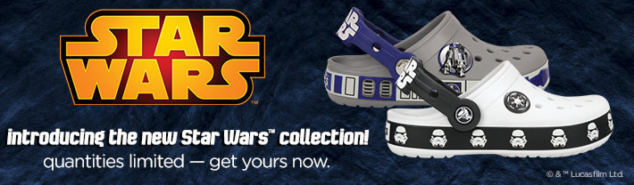 Star Wars Crocs