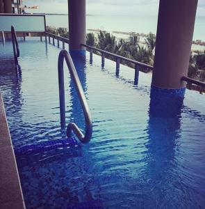 Pool off hotel room
