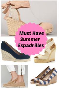 Must Have Summer Espadrilles
