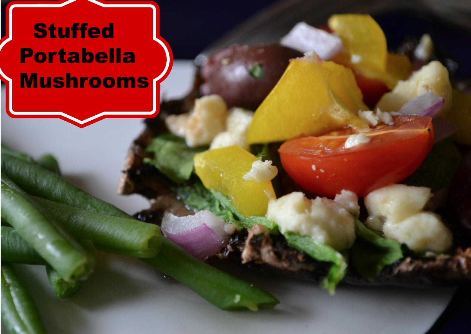 Stuffed Portabella Mushroom Recipe