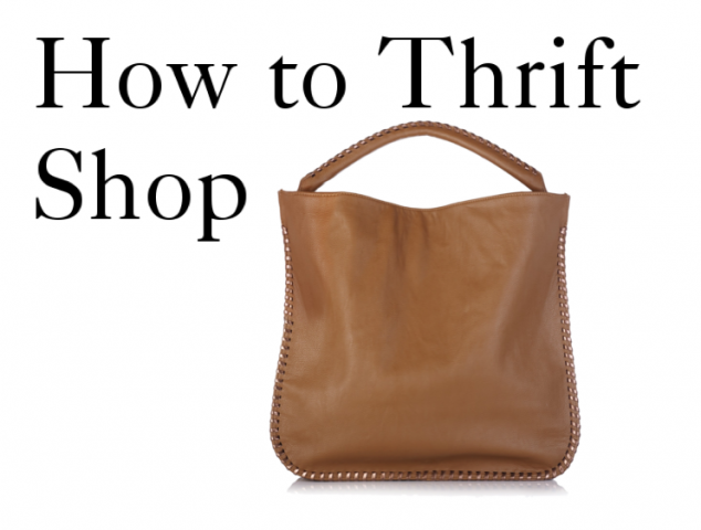 How to Thrift Shop