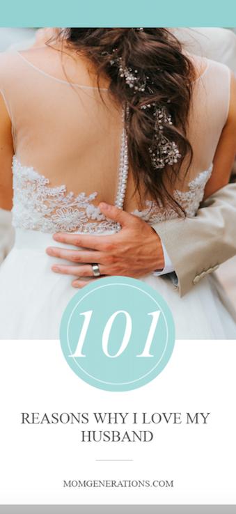 101 REASONS WHY I LOVE MY HUSBAND
