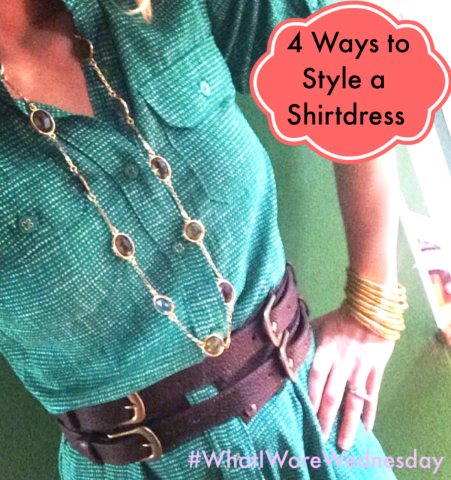 How to Wear a Shirtdress