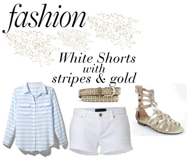 What to Wear with White Shorts