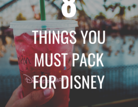 Disney Packing List
