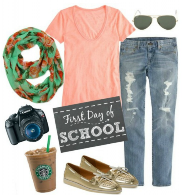 Mom Style Monday Back to School Outfit for Mom #MomStyle - Stylish Life for Moms