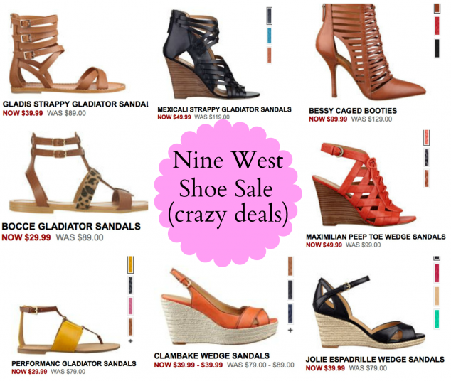 6ecd397075 Shoe Love: Nine West Shoe Sale up to 70% OFF! - Mom Generations ...