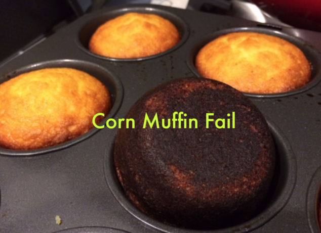 Mom can't Cook - Corn Muffins